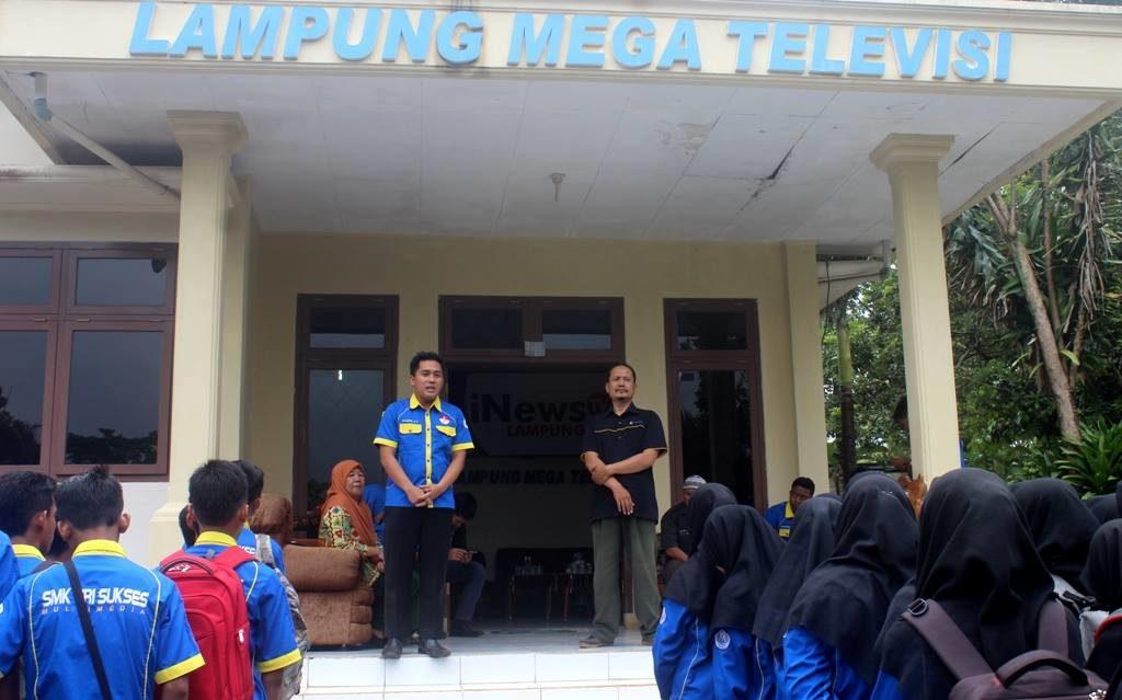 Studi Lingkungan SMK Tri Sukses Jurusan Multimedia Kelas X dan XI di iNews TV Lampung